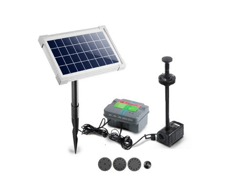 Submersible Fountain Pump with Solar Panel 50W or 12W