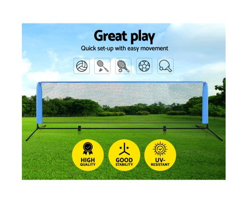 Portable Volleyball Tennis Sports Net - 3m or 4m