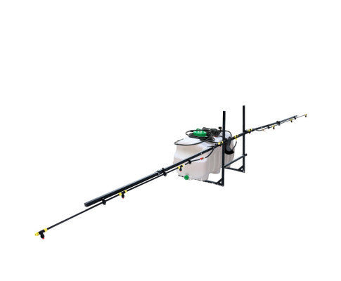 100L ATV Weed Sprayer 5M Boom Trailer Spot Spray Tank