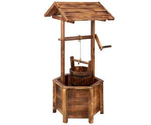 Wooden Wishing Well