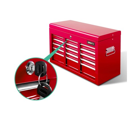 9 Drawers Chest Tool Box - Red Or Black
