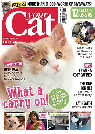 Your Cat Magazine April 2017 - LATEST ISSUE