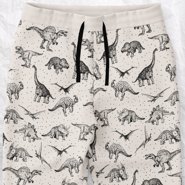 Personalized Dinosauria Sweatpants