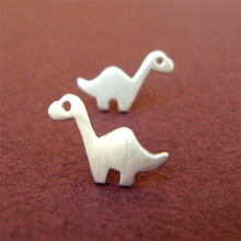 Load image into Gallery viewer, Brontosaurus Stud Earrings