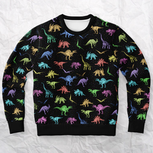 Load image into Gallery viewer, Personalized Dino Eccentrics Sweatshirt