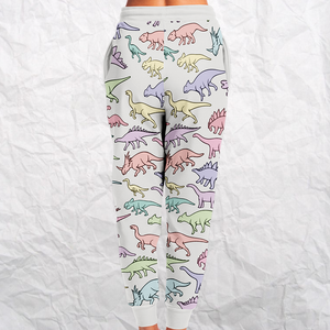 Personalized Dino Delight Sweatpants