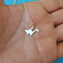 Load image into Gallery viewer, Personalized Brontosaurus Necklace