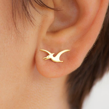 Load image into Gallery viewer, Pterodactyl Stud Earrings