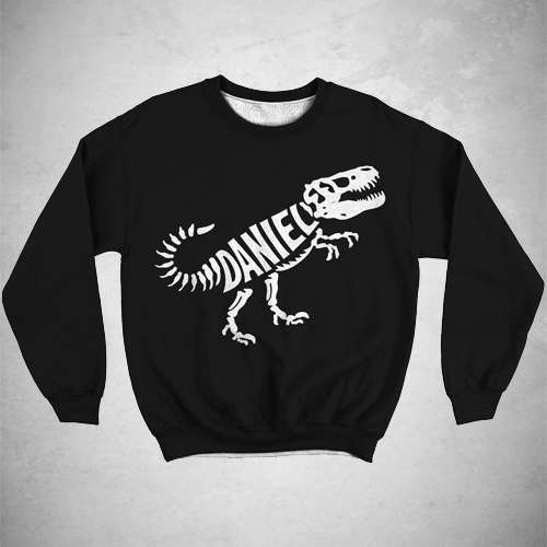 Personalized Fossil Sweatshirt