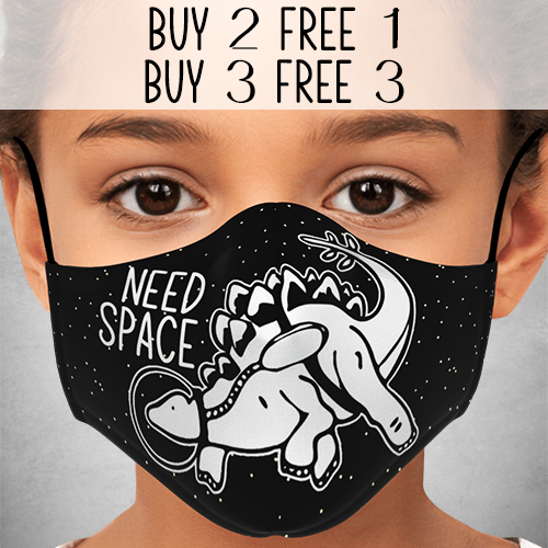 Need Space Face Mask