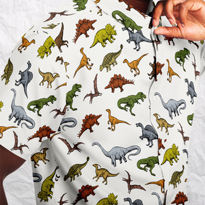 Personalized Terrible Lizards Button-Up Shirt
