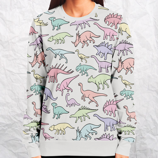 Personalized Dino Delight Sweatshirt