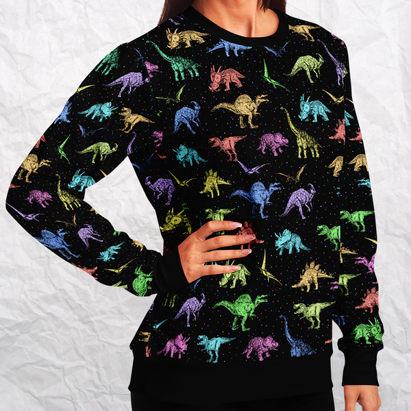 Personalized Dino Eccentrics Sweatshirt