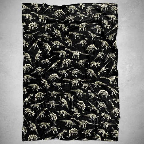 Personalized Fossils Blanket