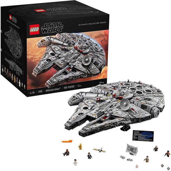 (HOT)🔥-Star Wars Ultimate Millennium Falcon 75192 Expert Building Kit
