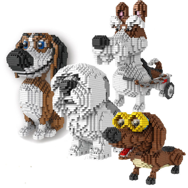 🔥Limited 50% discount🔥Dog Building Blocks