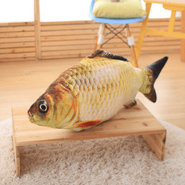 Funny cat pet toy electric fish simulation fish will beat fish cat mint grass plush toy