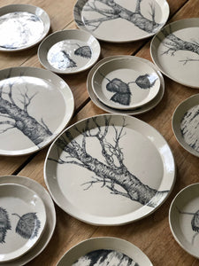 Birch Tree Plate Set