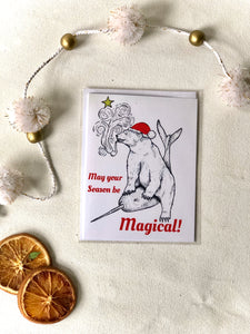 May Your Season Be Magical Card