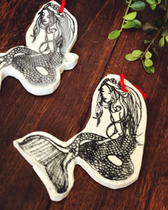 Classic Mermaid Ornament