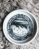 """Find The Stars"" Butter Keeper Dish"
