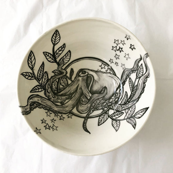 Octopus Stargazer Bowl