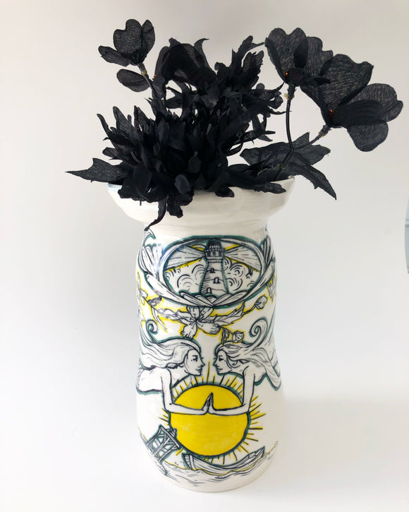 Tales From the High Seas Vase