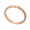 18ct Rose Gold  Vermail Jaguar Pattern Bar Pendant Necklace