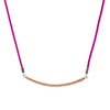 18ct Rose Gold  Vermeil Tribal Pattern Pendant Necklace