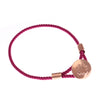 Cynthia 18ct  Rose Gold Chakana Cross Caring Bracelet
