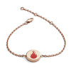 18ct Rose Gold Vermeil Fire Feline Spirit chain bracelet