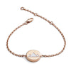 18ct Rose Gold Vermeil  Earth Feline Spirit Bracelet
