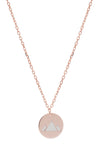 18ct Rose Gold Vermeil  Earth Feline Spirit Charm Pendant Necklace
