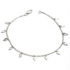 LAST ONE! Little Princess Dainty Sterling Silver Small Leaf Bracelet