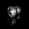 Claudia Lira  Handcrafted  925 Sterling Silver Asymmetrical Mandarin Open Ring