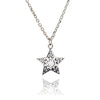 Sterling Silver Filgree Star Pendant