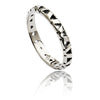 Women's Exotic  925 Sterling Silver Jaguar Lattice Ring