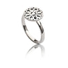 Ladies  Exotic 925 Sterling Silver Circular Jaguar Filigree Ring