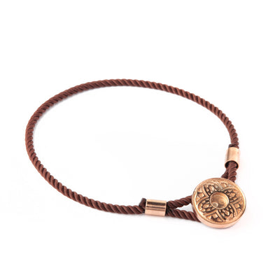Elizabeth (brown) Rose Gold Tribal
