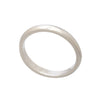 Unisex Polished  Sterling Silver Stacking Band