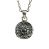 Silver Peruvian Coin Necklace