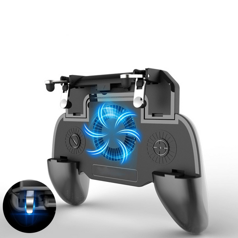 Universal Gamepad With Powerbank & Cooling