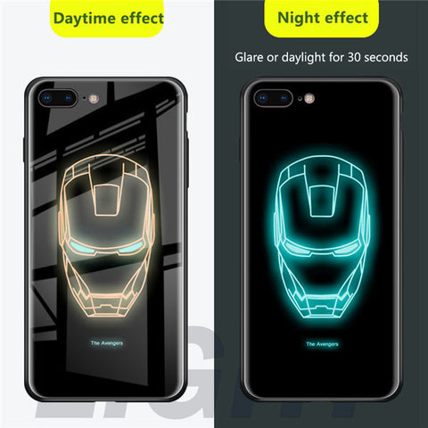 superhero luminous iPhone case