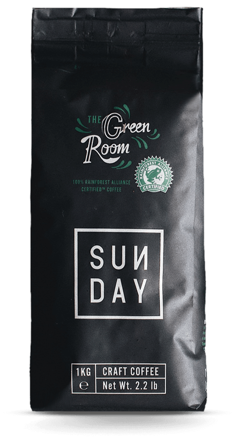 SUNDAY COLLAB 'Greenroom' Blend - 1kg Whole bean
