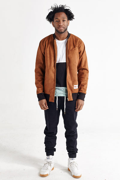 THE GULF SUEDE BOMBER