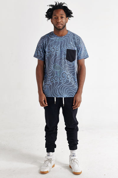 PAISLEY CLOUDS KENSINGTON TEE