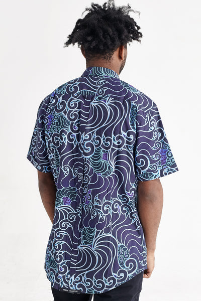 PAISLEY CLOUDS SS WOVEN