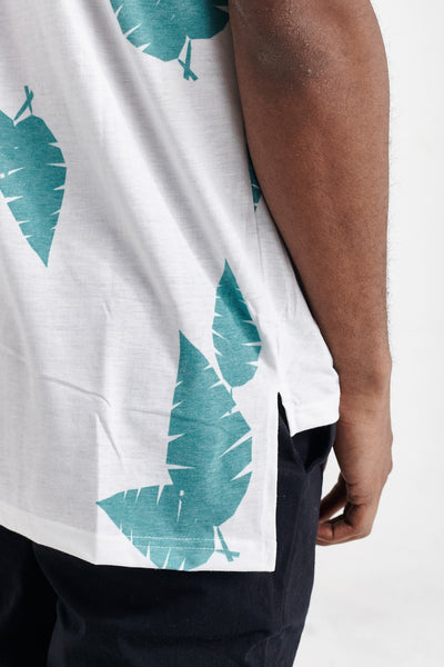 ROMAN LEAVES KENSINGTON TEE