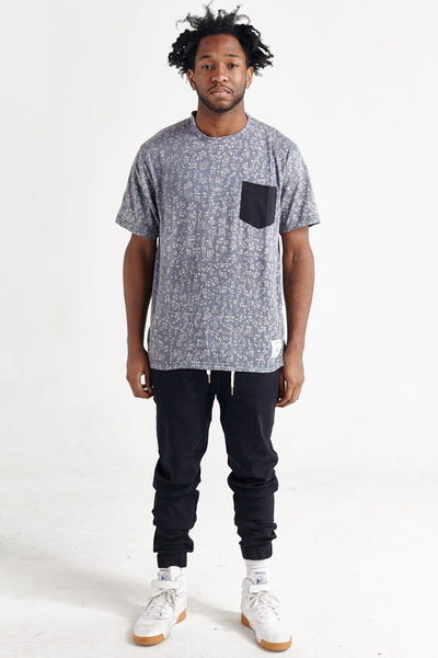SCOTLAND BEACH BLOCKS KENSINGTON TEE