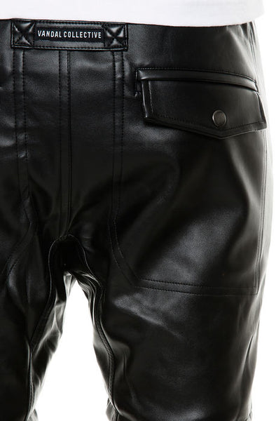 THE LEATHER THOMPSON SHORTS